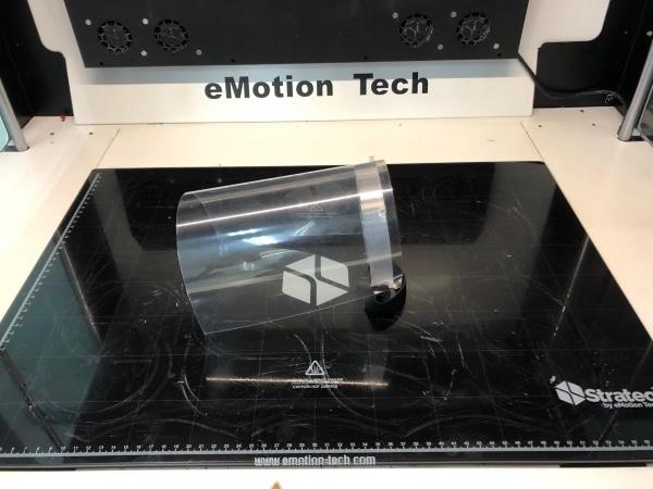 masque visière imprimé en 3D