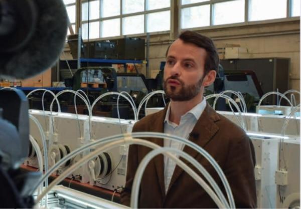 Stanislas Clicquot, PDG de la société HAVA3D