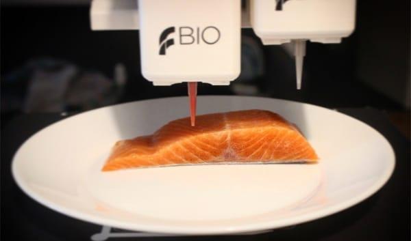 Legendary Vish dévoile son saumon imprimé en 3D à base de plante