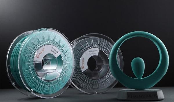 Les français Francofil et Veolia s'associent pour fabriquer des filaments d'impression 3D recyclés