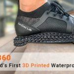Bisca360 : des chaussures respirantes et imperméables imprimées en 3D