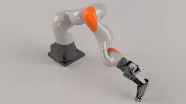 bras robotique post-traitement