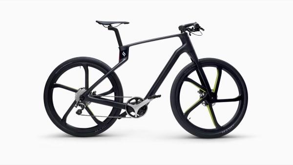 Superstrata : un vélo avec cadre monocoque en carbone imprimé en 3D