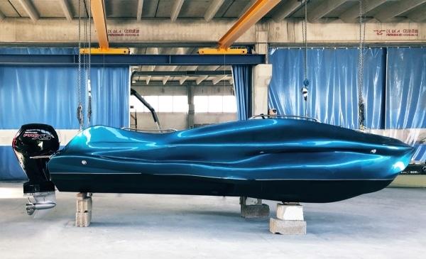 bateau MAMBO imprimé en 3D