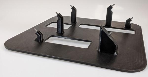 Guide aux rayons X imprimé en 3D