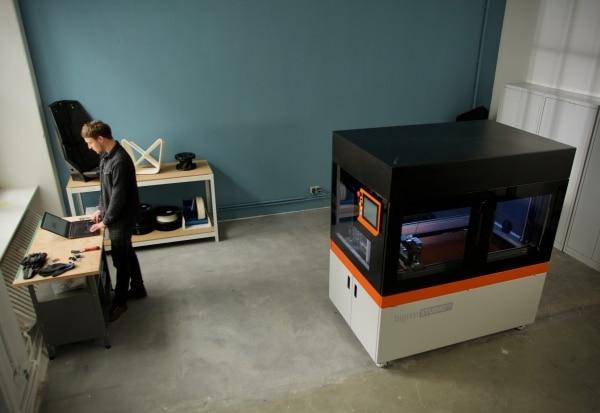 BigRep lance un service de location pour ses imprimantes 3D grand format