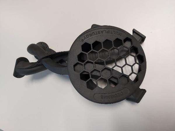 Démonstrateur complexe 3D imprimé par frittage Laser