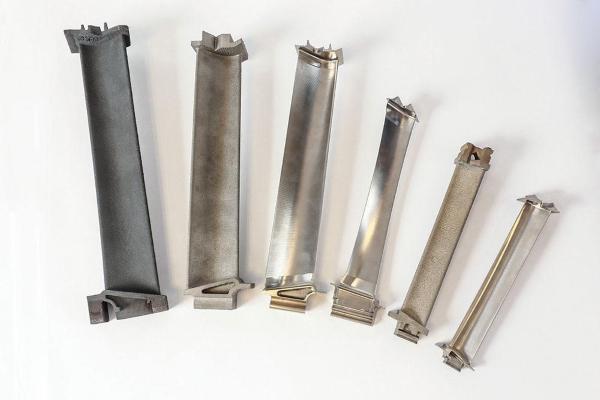 Aubes de turbine du puissant moteur à réaction GE9X