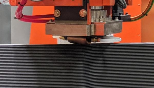 couches d'ABS chargées en fibres de carbone