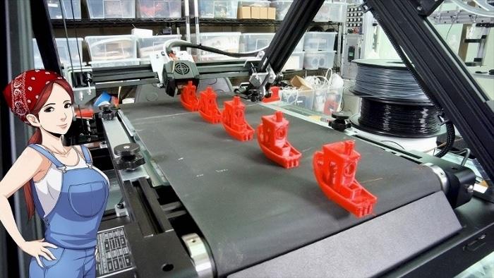 3DPrintMill : Creality lance une imprimante 3D à tapis roulant pour imprimer en continu
