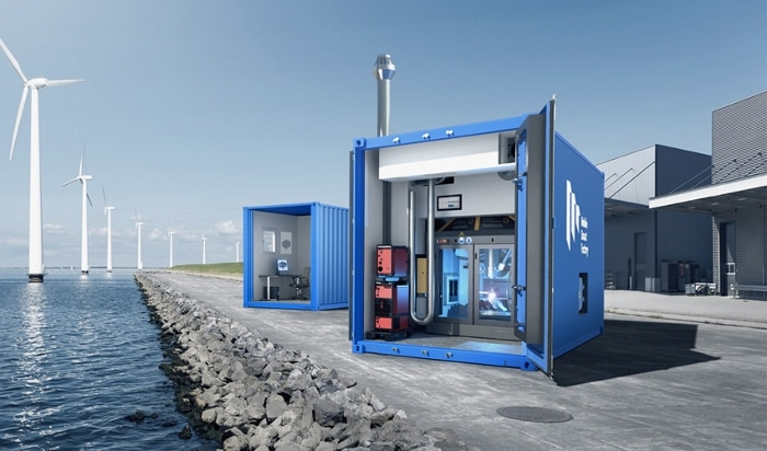 Mobile Smart Factory : des usines d'impression 3D mobiles sous la forme de conteneurs