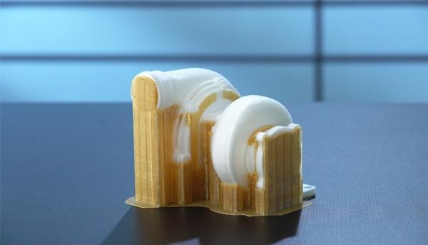 Support de pièce imprimée en 3D avec l'AquaSys 180