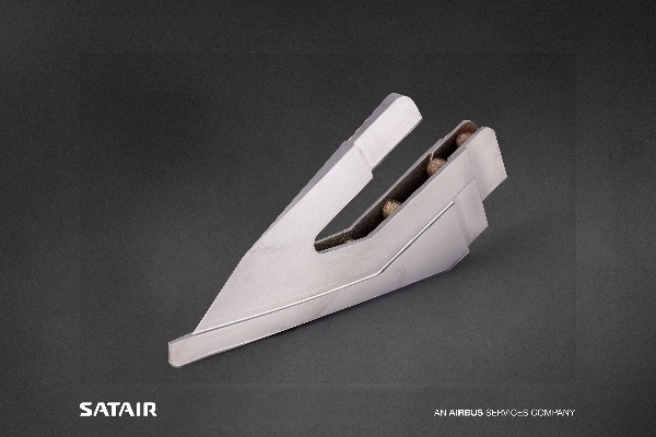 pièce d'avion imprimée en titane certifiée