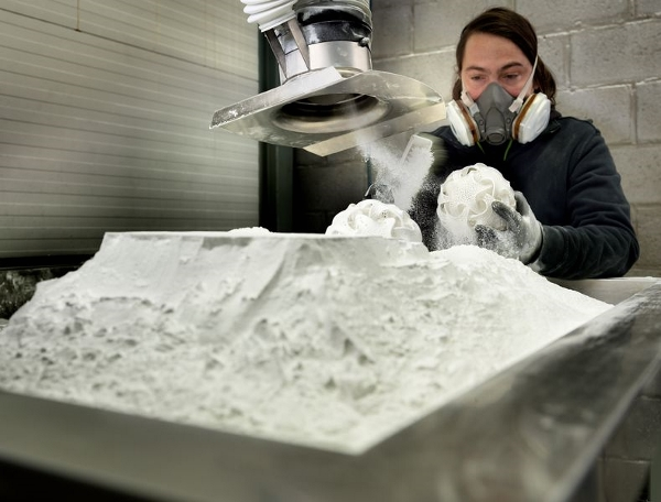 Materialise annonce une solution de frittage laser permettant de recycler 100 % de la poudre
