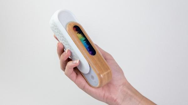 modèle d'enceinte Bluetooth imprimé en 3D
