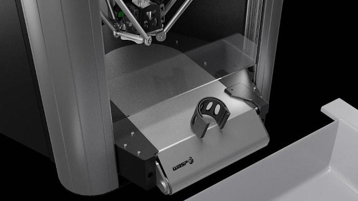 Rencontre avec WASP et sa nouvelle imprimante 3D permettant le retrait automatique des pièces