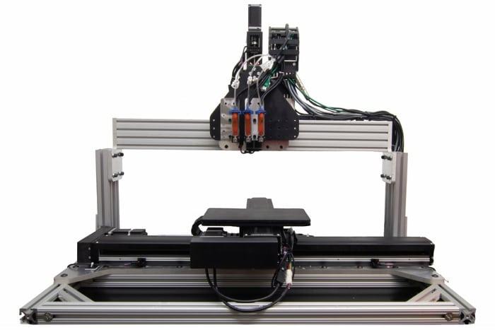 Le système d'impression 3D conçu par les chercheurs du MI