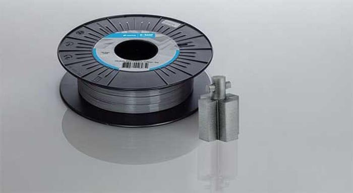 BASF lance un nouveau filament d'impression 3D métallique Ultrafuse 17-4 PH