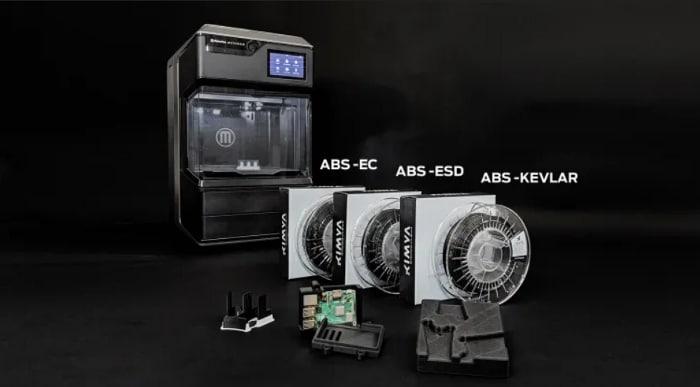 MakerBot qualifie trois nouveaux matériaux ABS Kimya pour son imprimante 3D METHOD X