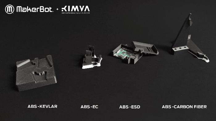 MakerBot qualifie trois nouveaux matériaux ABS Kimya