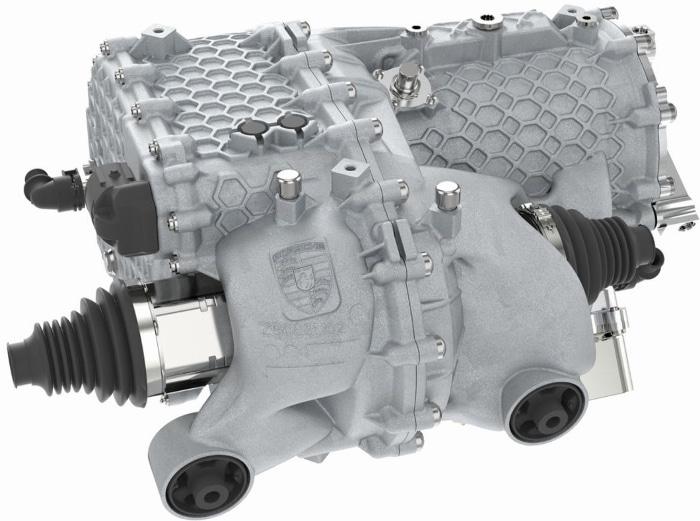 Porsche a réalisé un boîtier imprimé 40 % plus léger