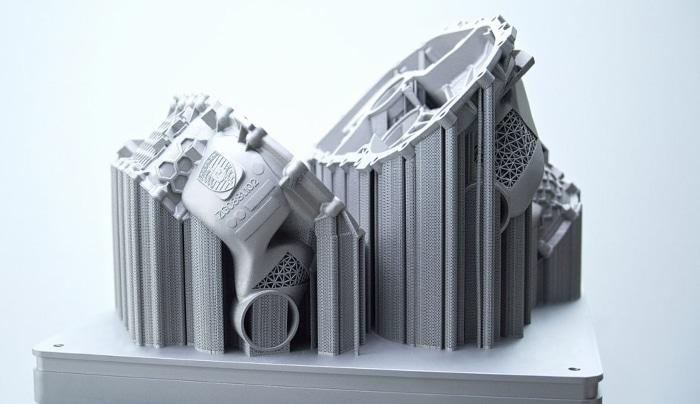 Porsche produit son premier boîtier complet à propulsion électrique par impression 3D