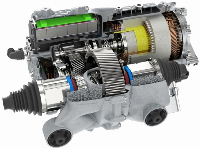 Porshe a utilisé la fabrication additive pour son moteur électrique