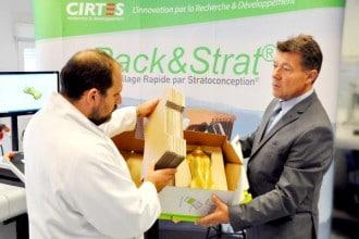 Claude Barlier, président directeur et fondateur du CIRTES