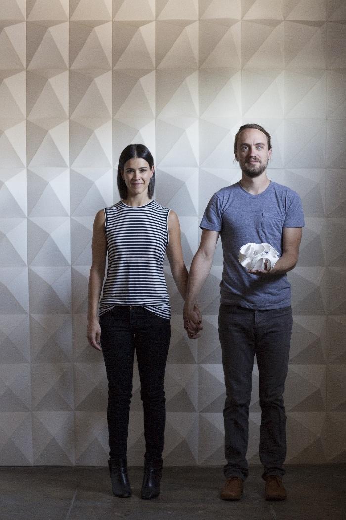 Les fondateurs de Sugar Lab Kyle et Liz von Hasseln