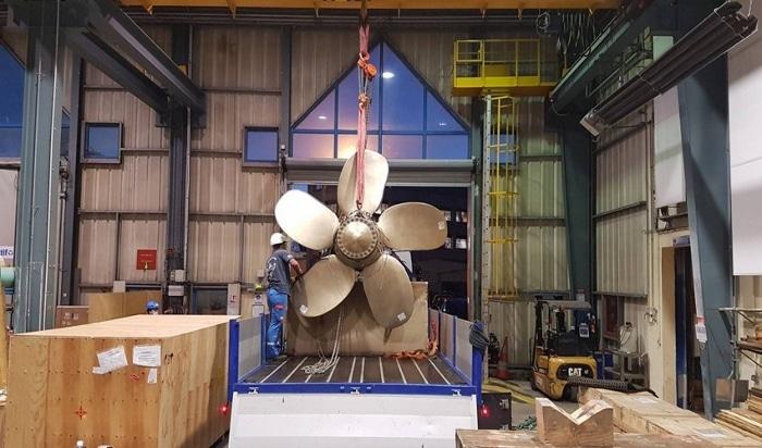 La Marine nationale valide une hélice imprimée en 3D sur un chasseur de mine