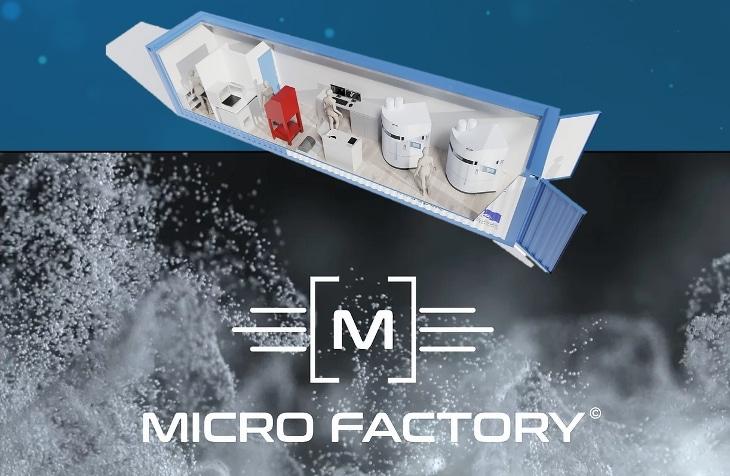 micro-usine mobile dédiée à l'impression 3D médicale