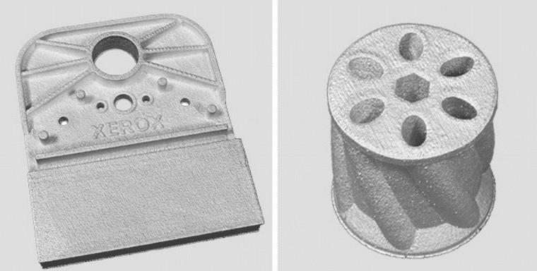 Des pièces en aluminium imprimées en 3D sur la machine ElemX