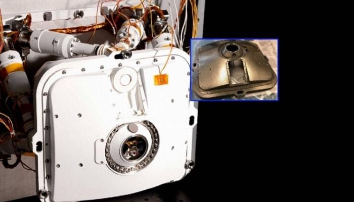 Coque extérieure de PIXL comprenant plusieurs pièces en titane imprimé en 3D