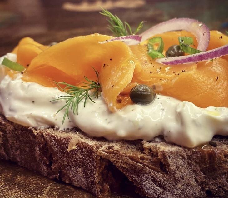 Revo Food organise une dégustation de son saumon végétal imprimé en 3D