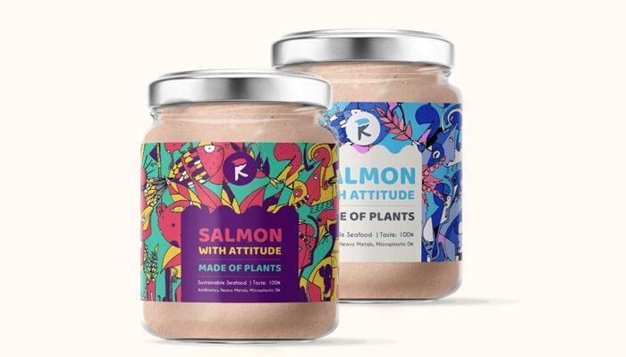 Crèmes de saumon à base de plante proposées par Revo Foods