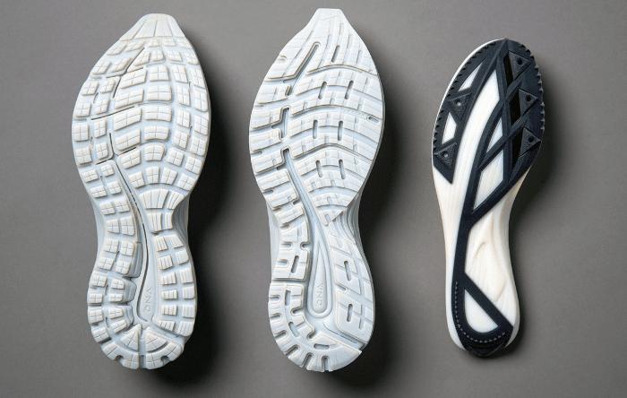 Prototypes de semelles de chaussures imprimés avec la J850 Pro