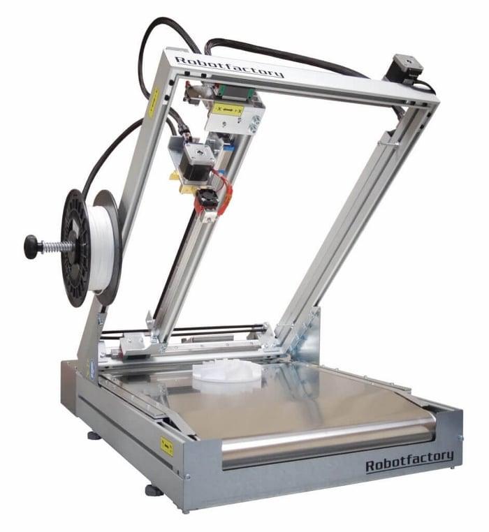 Imprimante 3D Silver Bet