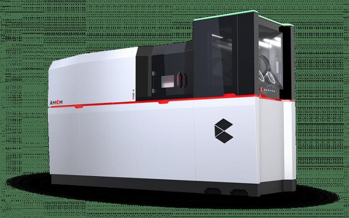 imprimante 3D métal industrielle AMCM M 4K-4 (quatre lasers)