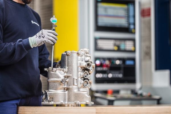 Groupe de lubrification du moteur LEAP imprimé dans un alliage d'aluminium