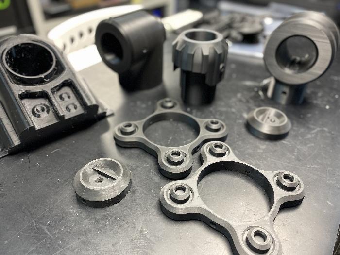 Pièces de décor ABS et PETG, imprimés sur Zortrax M200 et Raise N2 Plus
