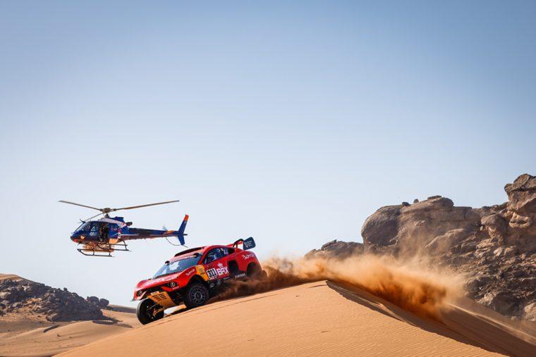 Dakar 2021: quand Prodrive mise sur l'impression 3D carbone pour sa buggy