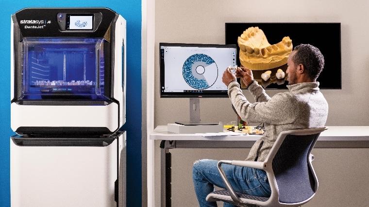 Stratasys montre les dents avec une nouvelle imprimante 3D dentaire 5 fois plus productive