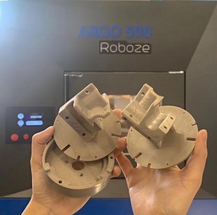 Supports de capteur de champ magnétique imprimés par Roboze