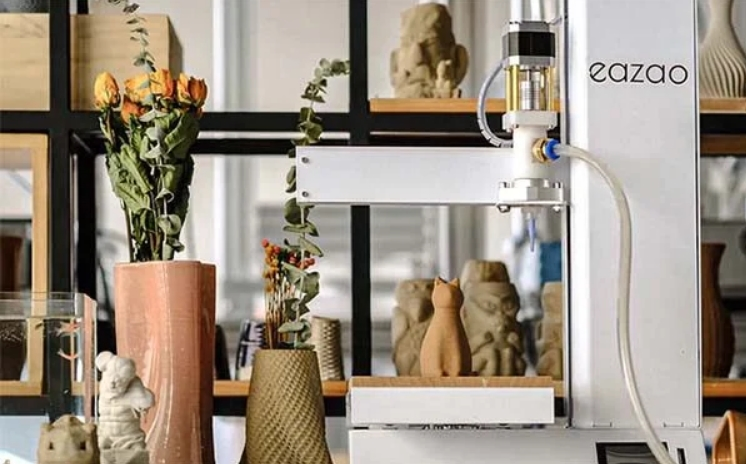 Cerambot lance sa « Eazao », une imprimante 3D céramique bon marché pour les professionnels