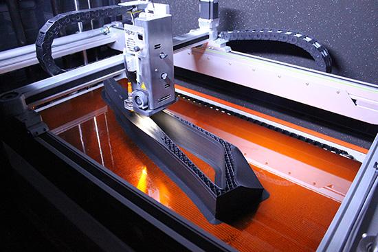 filament d'impression 3D pour les coffrages de béton