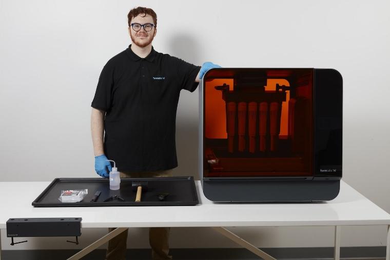 Formlabs et l'AFPMA s'associent pour proposer une formation sur l'impression 3D SLA