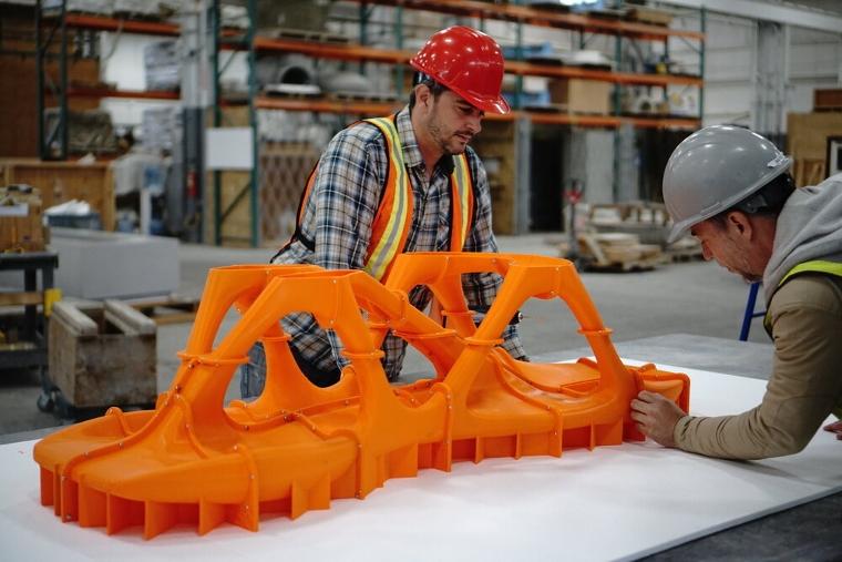 Sidelab : un studio de design qui repousse les limites du béton grâce à un moule imprimé en 3D
