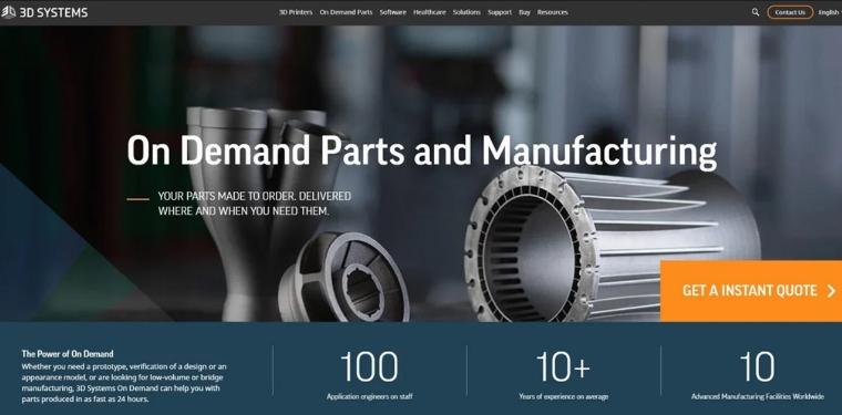 3D Systems annonce la vente de ses activités de services pour 82 millions $