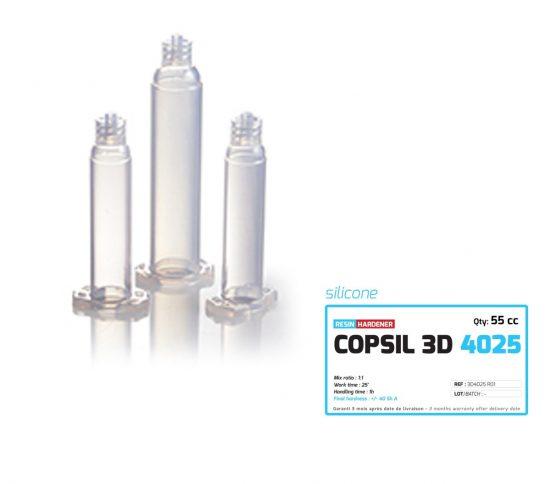 Silicone COPSIL 3D 4025 adapté aux applications de contact avec la peau selon la norme ISO 10993-5