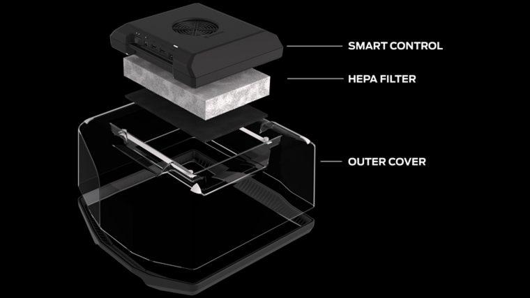 MakerBot présente un nouveau système de filtration intelligent Clean Air